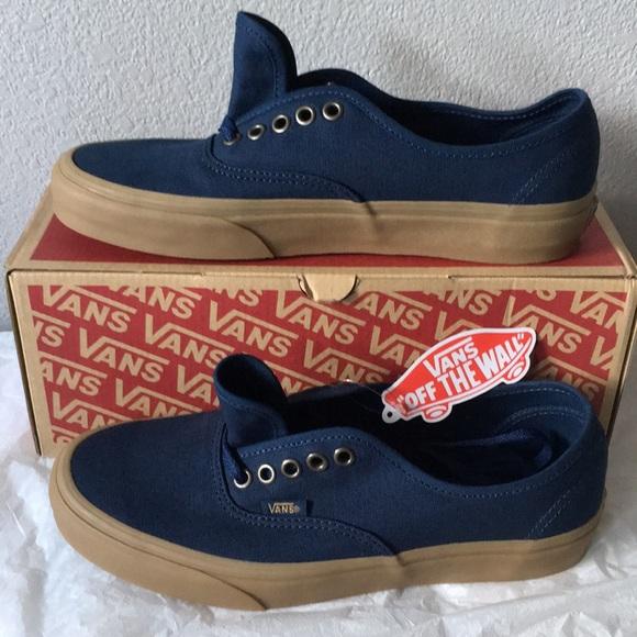 4430767918 vans authentic(light gum)dress blues